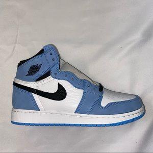 Nike Air Jordan 1 High GS University Blue 7Y 8.5W